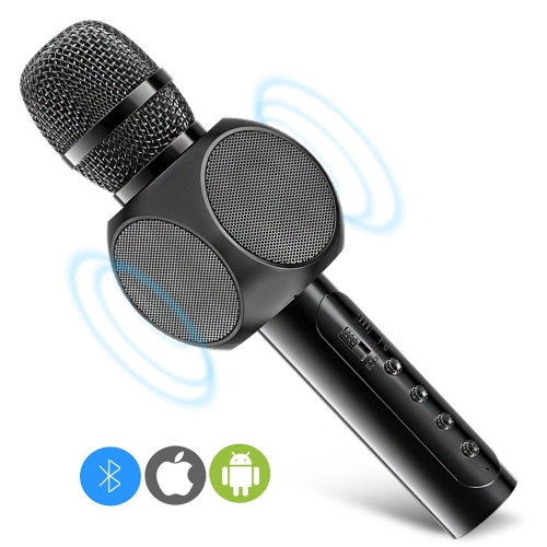 ERAY E203 Portable Karaoke Microphone with Built-in Bluetooth Speaker