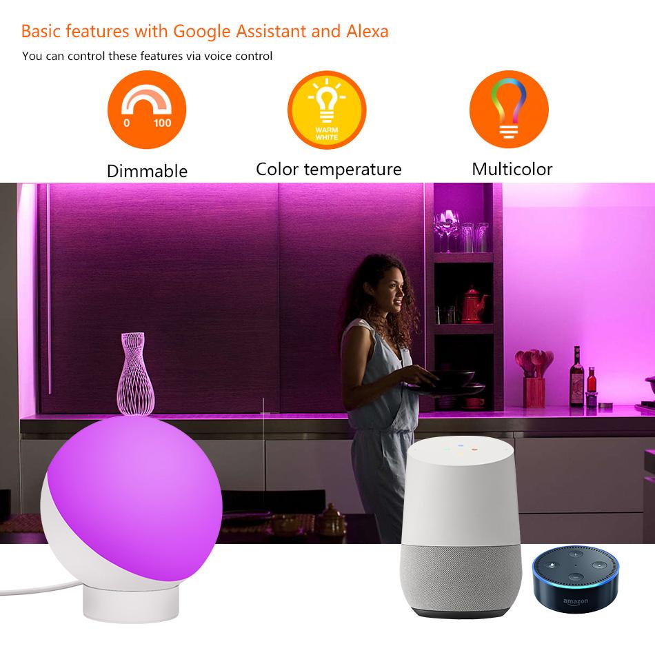 Eray Tuya Wi Fi Smart Lights Table Lamp Bedside Lamp
