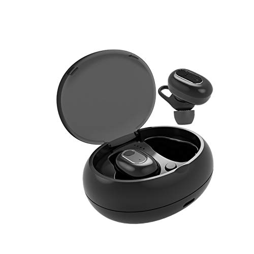 ERAY Wireless Bluetooth V5.0 Earbuds Mini in-Ear Earphones Invisible Dot 3D Stereo Sound Sport Headphones with Built-in Mic Portable Charging