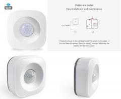 Eray PIR-01W Tuya Wireless WIFI PIR Motion Sensor Detector Alexa/Google  Assistant Compatible
