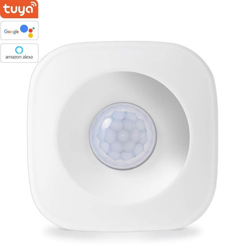ERAY PIR-01W Tuya Wireless WIFI PIR Motion Sensor Detector Alexa/Google Assistant Compatible