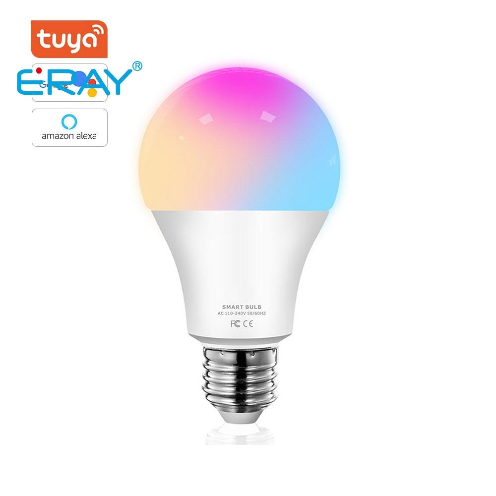 Eray Tuya Smart Led Bulb Colorful Lighting Work With