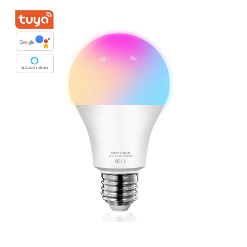 ERAY LB01 TUYA WiFi Multicolor LED Smart Bulb Compatible with Phone, Google Home and Alexa (No Hub Required) 9W