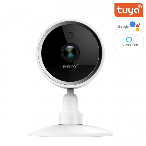 ERAY 1080p WiFi Home Smart Camera, Wireless Indoor 2.4G IP Security Surveillance with Night Vision, Monitor with iOS, Android App