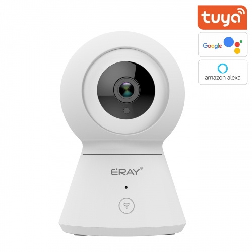 ERAY 1080P WiFi Home Security Camera, Indoor Smart Surveillance Pet Baby Monitor, Zoom IP Camera, Night Vision, Ptz, Two-Way Audio, Pan, Tilt