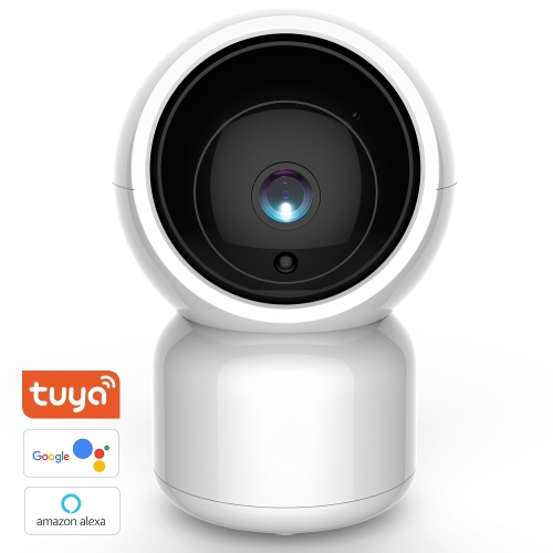 Security Camera, Wireless Eray HD WiFi Surveillance IP Camera Works with Alexa & the Google Assistant, Motion Detection, Two-Way Audio, with a Network