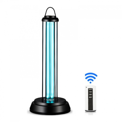 Eray Germicidal Light 36 Watt Ultraviolet Lamp Portable Disinfection,Remote Control Third Gear Timing